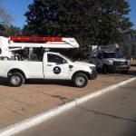 El Municipio presento Camioneta Hidroelevador